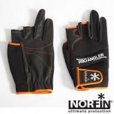 ���� �������� Norfin PRO ANGLER 3 CUT GLOVES