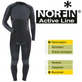 Термобельё Norfin ACTIVE LINE Black