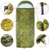 Спальный мешок Nisus Travel Extreme -15 (220х90) Stratex 300 Camo